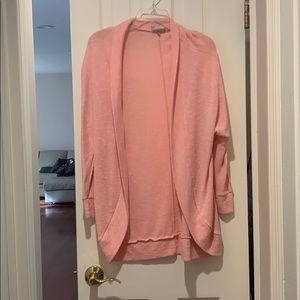 Coral Pink Charlotte Russe Cardigan